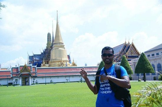 Wat Phra Kaeo (Temple of the Emerald Buddha) : Temple