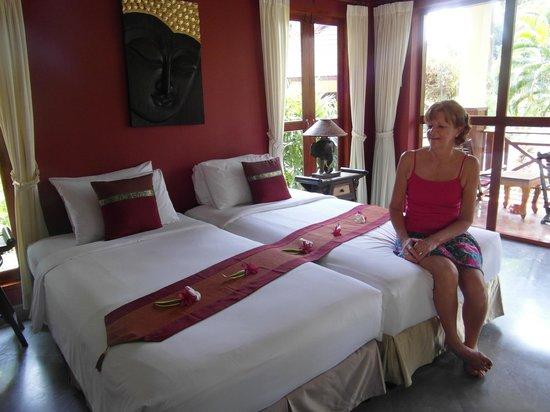 Oriental Kwai Resort : Lovely room