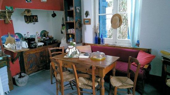 Chios Rooms: Gemeinschaftsküche