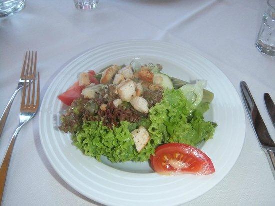 Heritage Hotel Hallstatt: salad