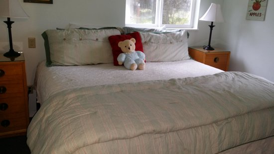 Miller Tree Inn Bed & Breakfast: King bed in the Orchard Suite
