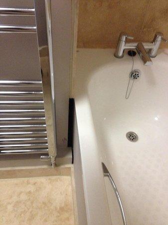 Waterhouse: Poor bathroom finish