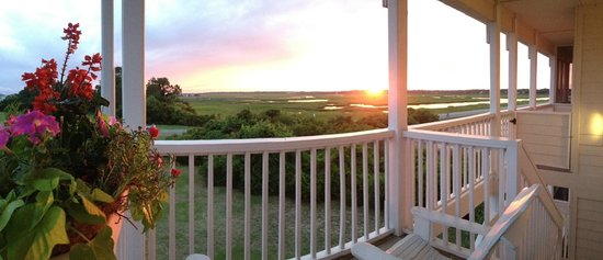 The Sunset Inn: Marsh from Inn Porch