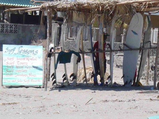Playa Las Peñitas: Surf Shop 2