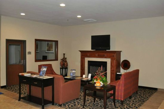 Best Western Oasis Inn : Hotel Lobby