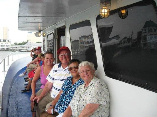 Atlantic City Cruises: Enjoying an afternoon Dolphin Cruise on Cruisin One with my parents