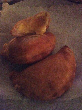 La Tia Rica: Empanadas de queso