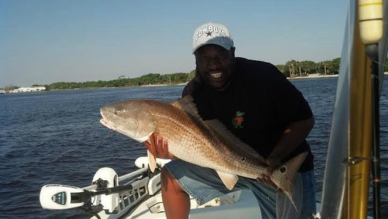 Enterprise Fishing Charters: 40 something lb Dirty Red