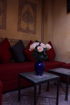 La Maison Arabe : Room terrace