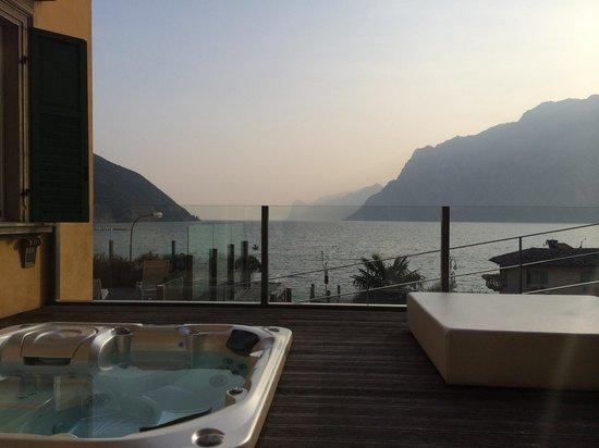 Hotel Lago di Garda: Terasse