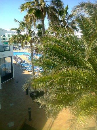 Be Live Experience Lanzarote Beach: Vista desde la habitación en bloque 4