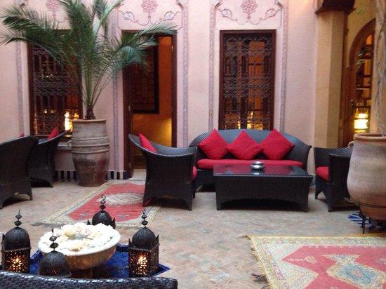 La Maison Arabe : Courtyard