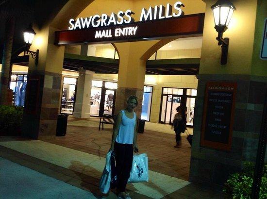 Sawgrass Mills: Fazer compras sempre é muito bom....
