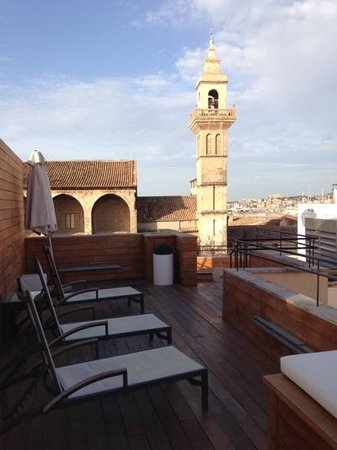 Santa Clara Urban Hotel & Spa: Roof top terrace and view