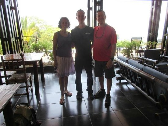 TikiVillas Rainforest Lodge & Spa: With Gary on our last day