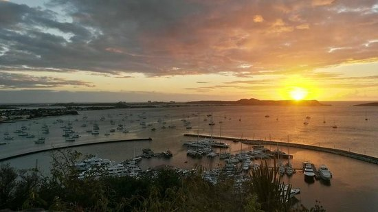 Fort Louis: Fort Saint Louis em Marigot - Por do sol
