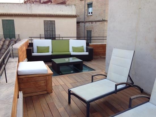 Santa Clara Urban Hotel & Spa: Roof top terrace seating
