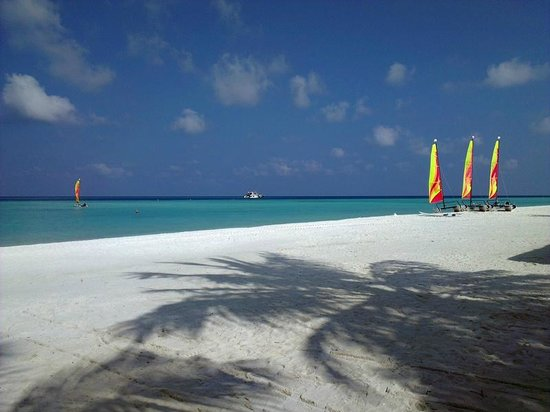 Club Med Kani : Sail boats