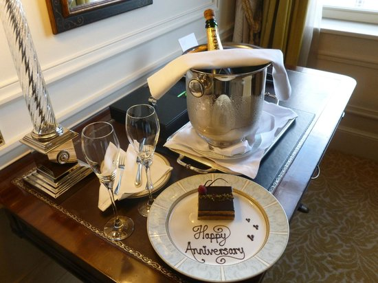 The Savoy: A nice touch