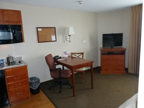 Candlewood Suites Galveston: Bedroom