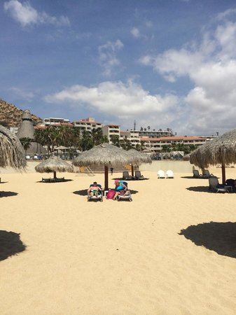 Sandos Finisterra Los Cabos: South side of beach