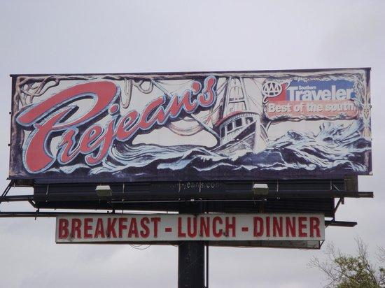 Prejean's : Sign On Highway