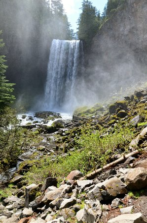 Summit Meadow Cabins: Tamanawas Falls, one of many nearby hikes