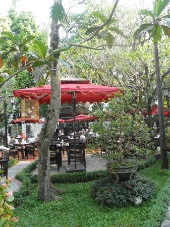 Hotel Saigon Morin: el jardin