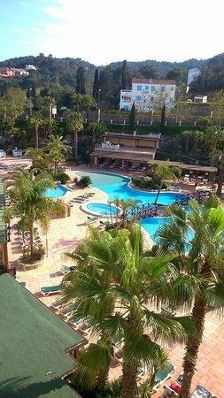 Golden Bahia de Tossa : View from balcony room 474
