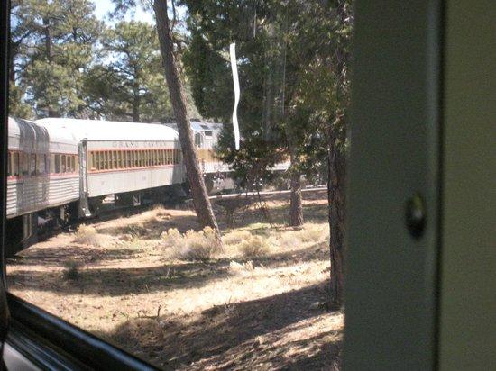 Grand Canyon Railway: Very comfortable