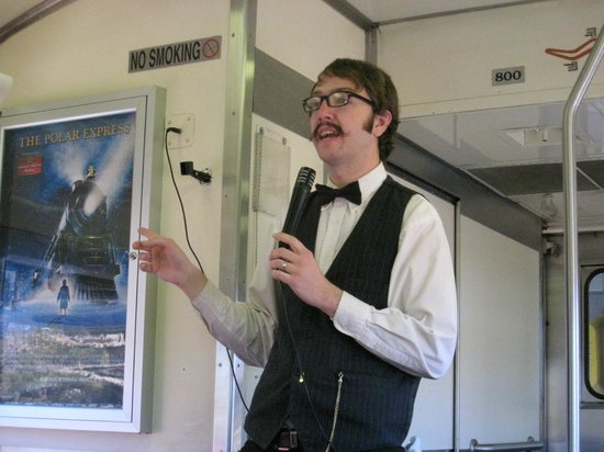 Grand Canyon Railway: Drew...quite funny and great magician!