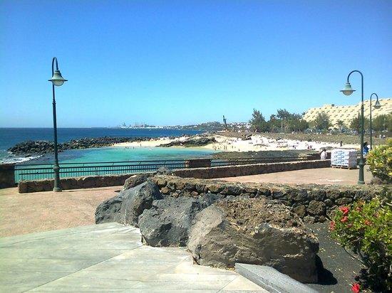 Be Live Experience Lanzarote Beach: Cala y paseo bellísimo muy cerca del hotel