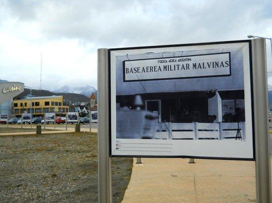 Plaza Malvinas : fotos de la epoca