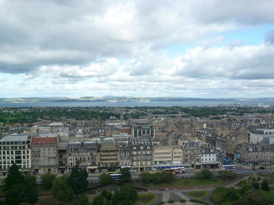 Edinburgh Castle: Vista do Castelo