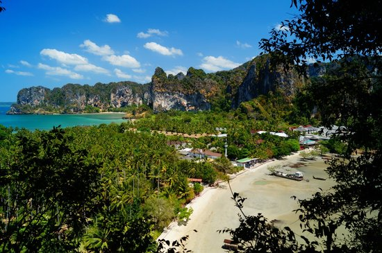 Railay Beach, Tayland: view