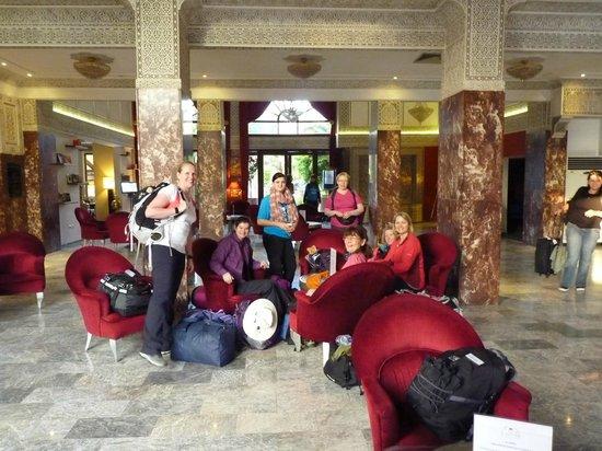Hotel El Andalous: Hotel Lobby
