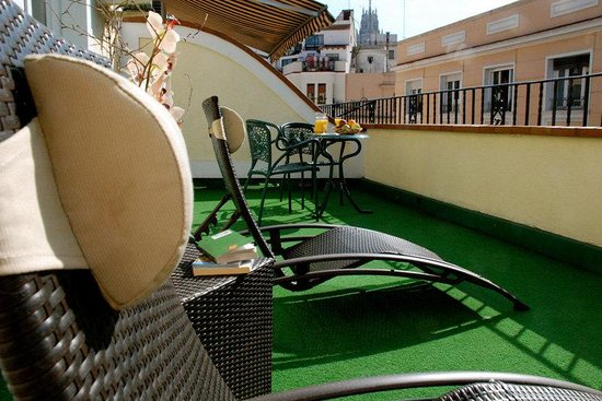 BEST WESTERN Carlos V: Guest Room Terrace