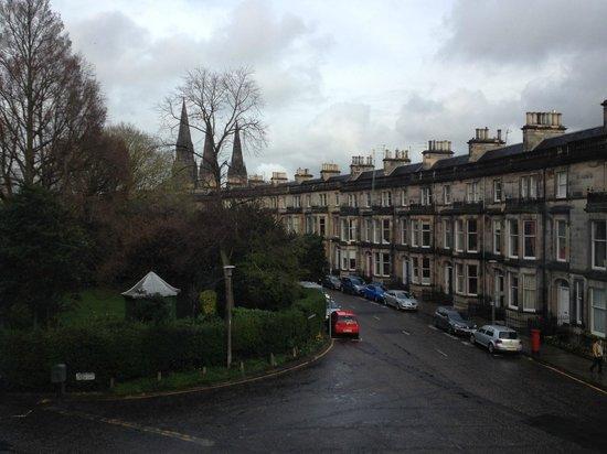 Travelodge Edinburgh Haymarket Hotel: View from room 109