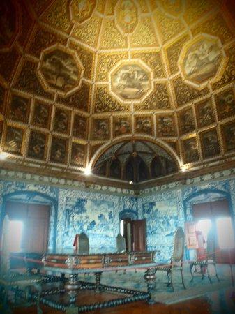 Palacio Nacional de Sintra: Ceiling of crests