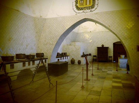 Palacio Nacional de Sintra: Kitchens