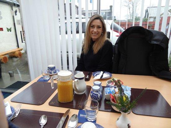 Pitfaranne Guest House : desayuno