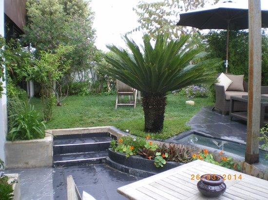 Hotel & Spa Le Doge : La terrasse... en pleine ville !