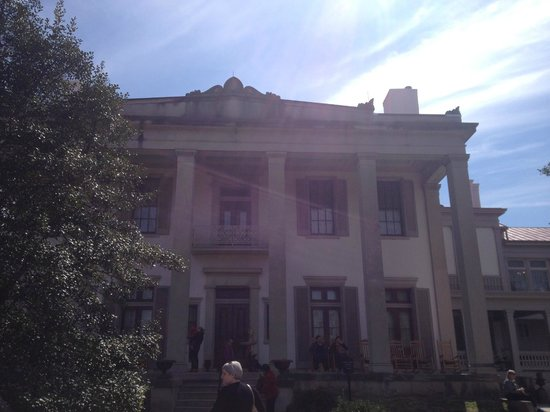 Belle Meade Plantation : Exterior of home