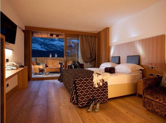 Hotel Alaska Cortina: Doubleroom