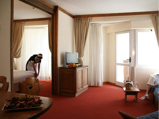 Hotel Alaska Cortina: Suite