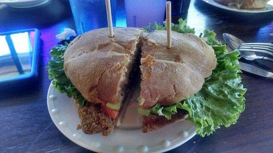 Steiner's European Deli & Market: Schnitzel Sandwich