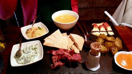 Ziryab Vinos y Tapas Fusio: Surprise menu