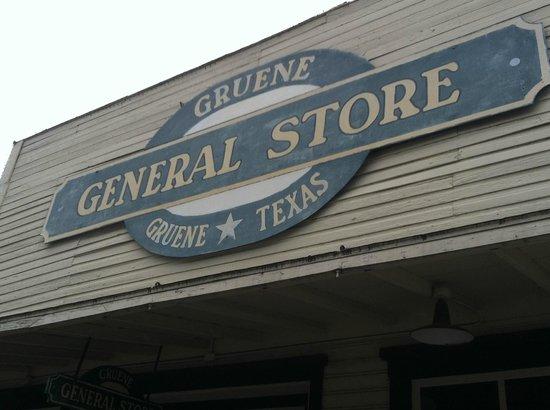 Gruene Hall: General Store