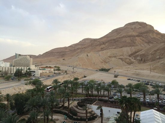 David Dead Sea Resort & Spa : View from the room No. 1029