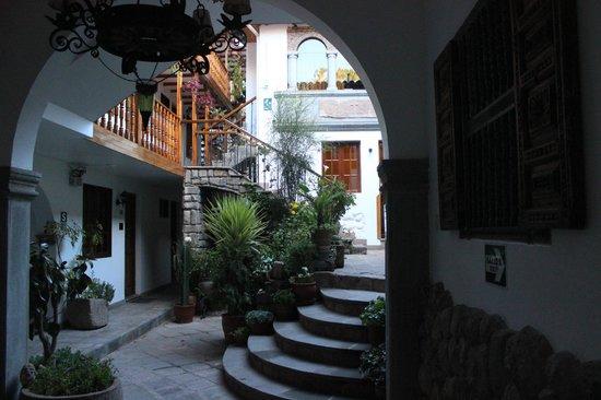 Hotel Rumi Punku : Vista do acesso aos apartamentos
